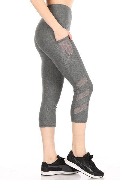 Workin' It Capri Leggings with Cell Phone Pockets