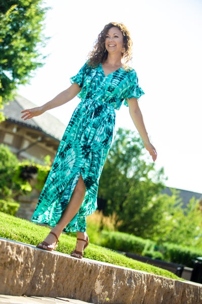 So Beachy Tie  Dye Maxi Dress *Final Sale*