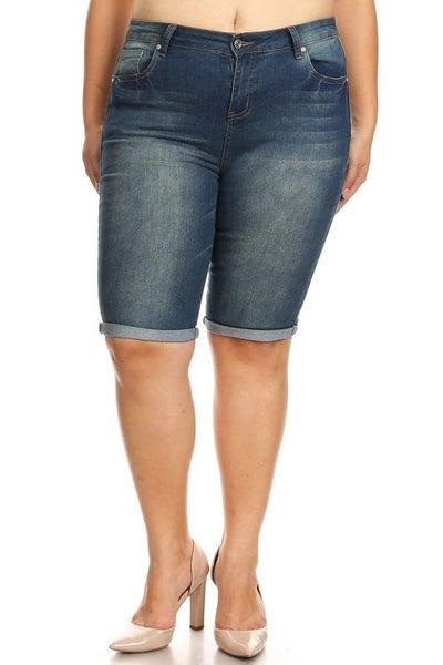 Curvy Bermuda Shorts
