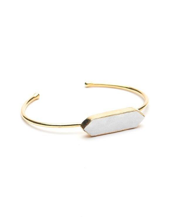 White Stone Bracelet *Final Sale*