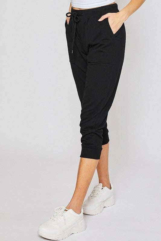 Keeping with Capris Joggers