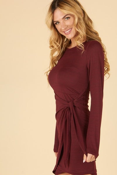 Hourglass Long  Sleeve Dress *Final Sale*
