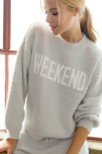 Waitin' For the Weekend Sweater