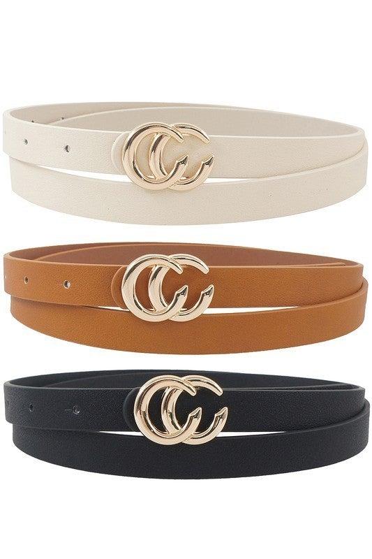 Infinity Skinny Belt