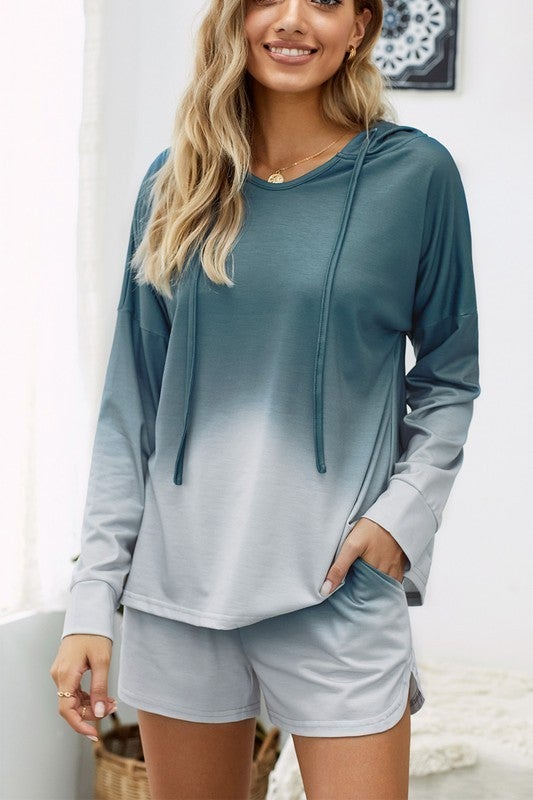 Ombré Lounge Top