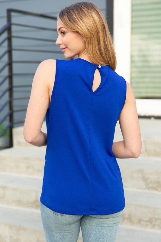 Must Have Solid Knit Sleeveless Top