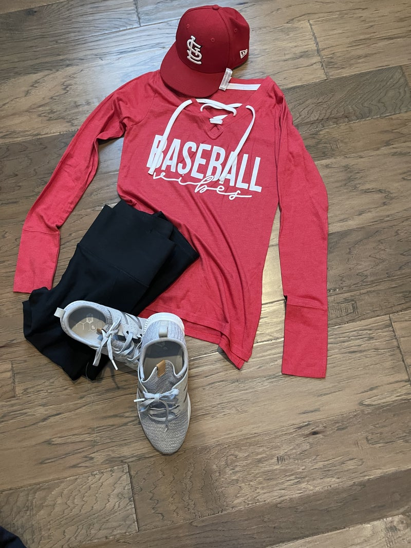 CTSTL Lace up Sporty Long Sleeved Tee
