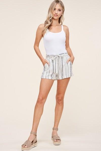 Life's a Beach Linen Shorts