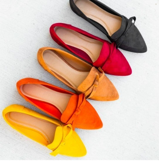 Fall Suede Flats *Final Sale*