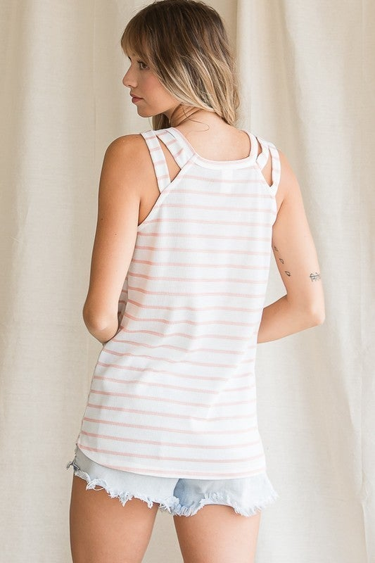 Pretty in Stripes Tank Top