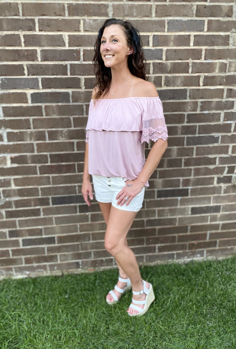 The Lacey Off-Shoulder