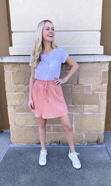 Just Blushing Skirt