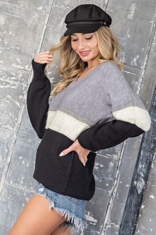 Hint of Gold Sweater *Final Sale*