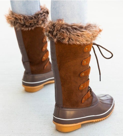 Vegan Fur Snow Boot *Final Sale*