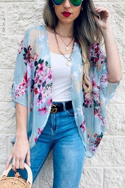 Amoli Chiffon Kimono