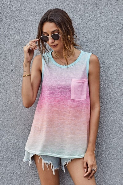 Ombre Tank size S - 3X