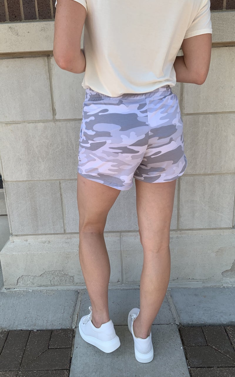 Cute Camo Shorts