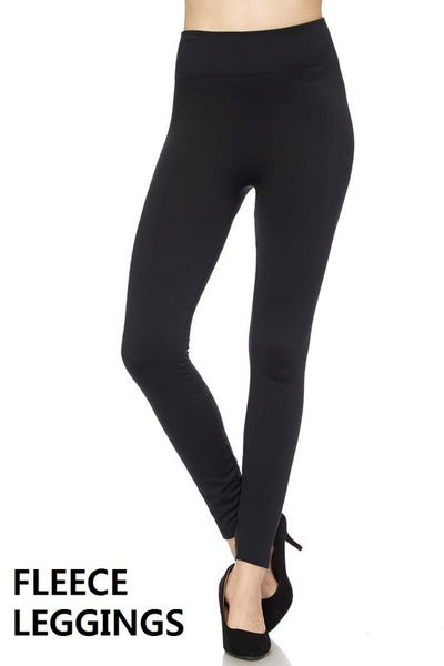 Keeping It Warm Fleece Leggings *Final Sale*