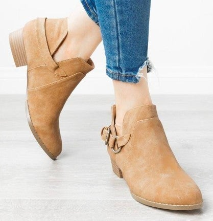 Favorite Fall  Ankle Booties *Final Sale*