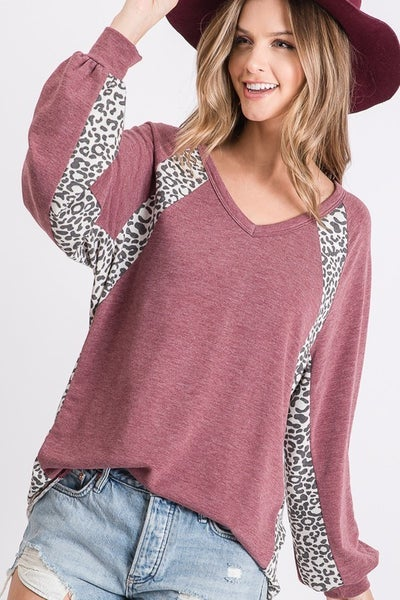 Stylin' Loose Fit Leopard Top