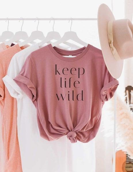 Keep Life Wild Graphic Tee