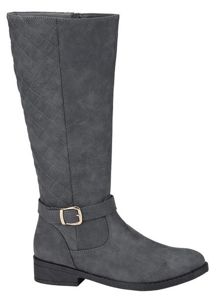 Quilted Knee High Boots *Final Sale*