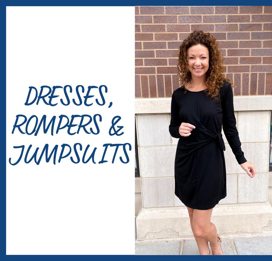 Dresses, Rompers, & Jumpsuits