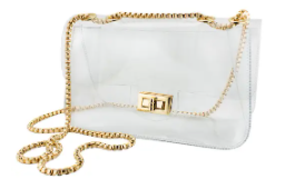 Clear Convertible Crossbody