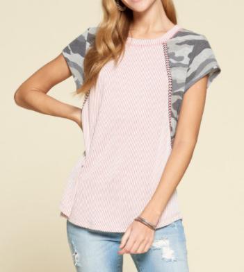Stripes for Daze Top - 2 colors!