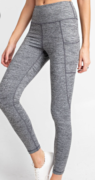 Too Compressed to be Stressed Leggings - 2 colors!