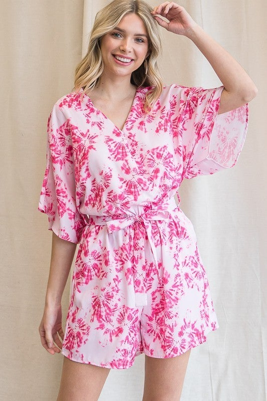 Spiraling Out Romper - 2 colors!