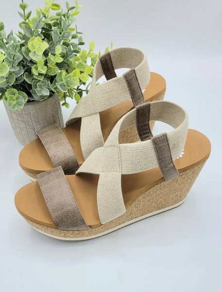 Faith In What I See Yellow Box Wedges