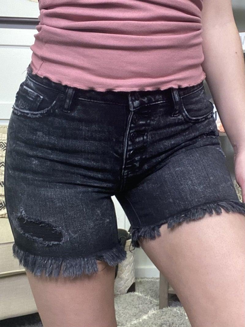 Rock my World High Rise KanCan Shorts