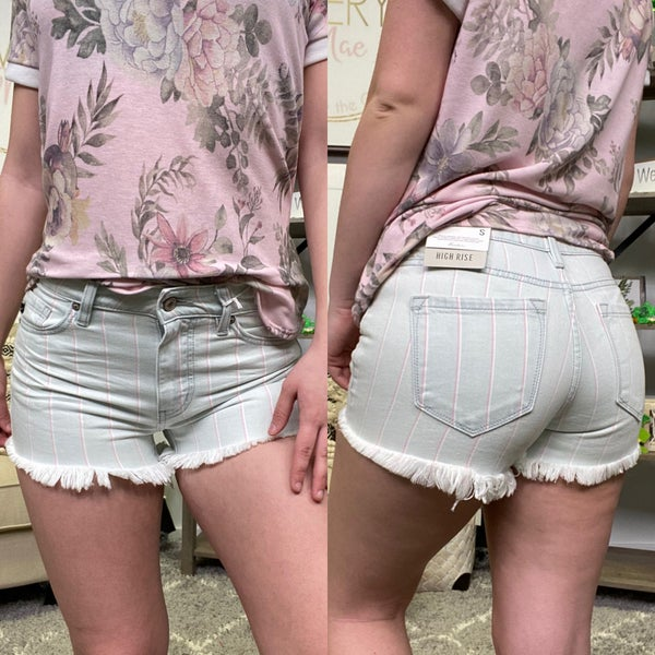 Rosey High Rise KanCan Shorts
