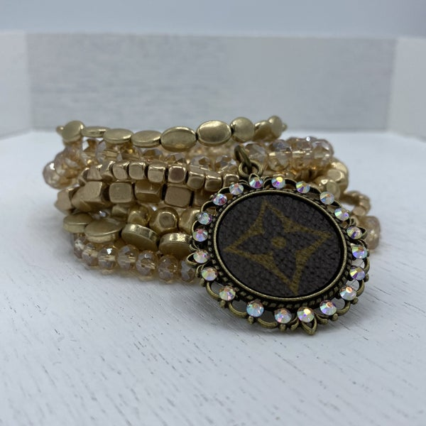 Up-Cycled Designer Gold is Your Color Bracelet