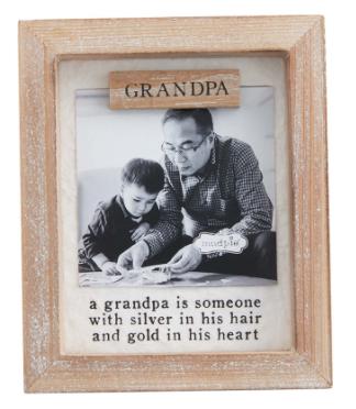 Grandpa's Keepsake Magnetic Frame