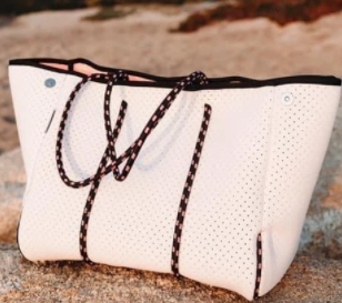 Neoprene Gorgeous Day Bag with Mini Pouch