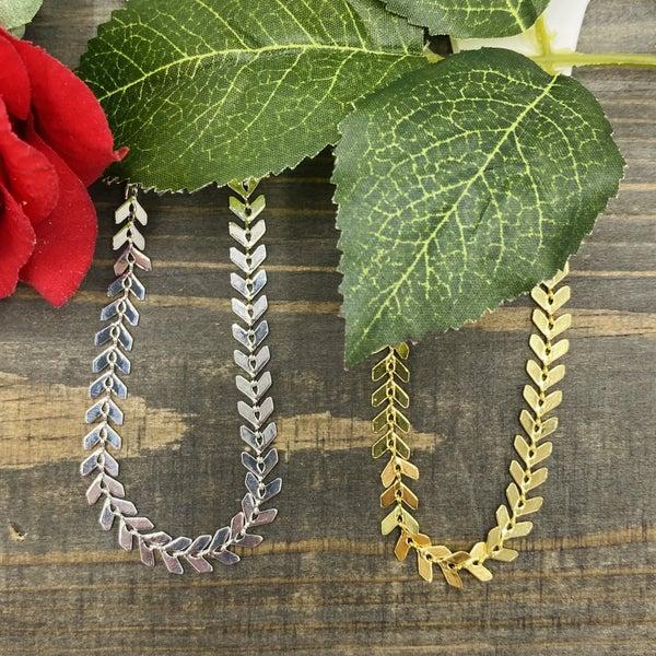 B.B.Lila Chevron Bracelet