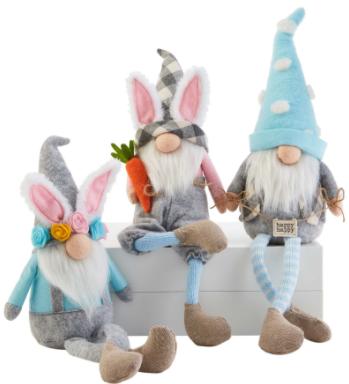 Welcome Gnome Spring Set (3 piece set)