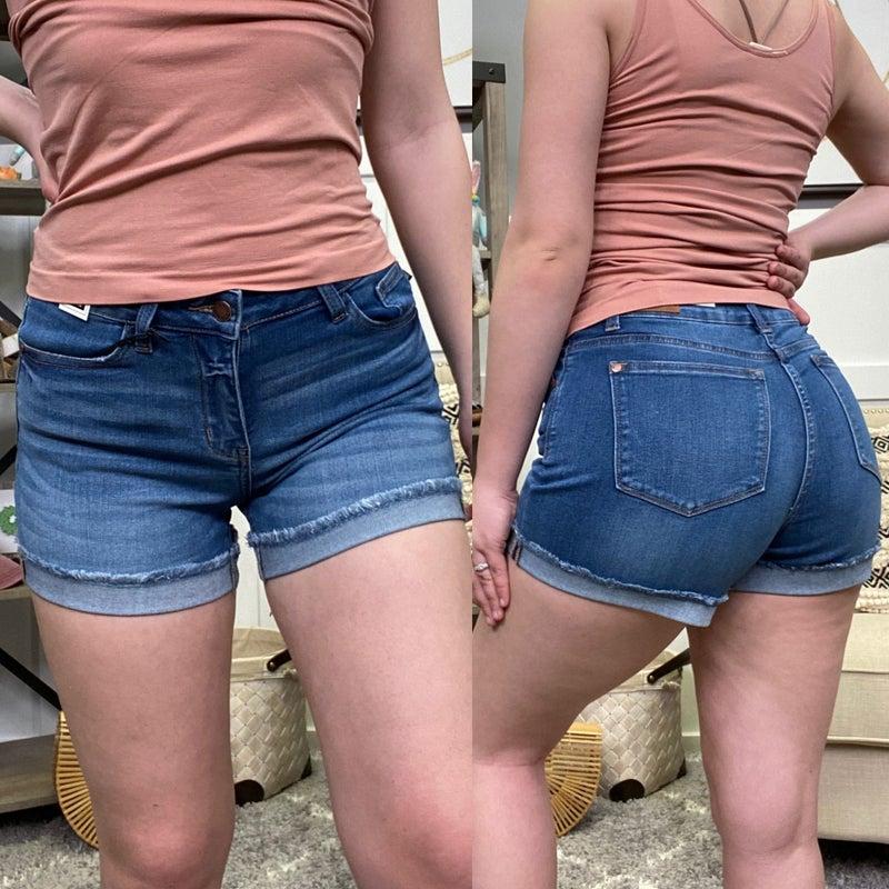 The Chelsie Judy Blue Shorts