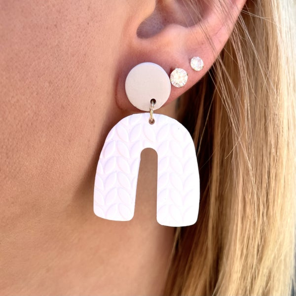 Playing in Puddles Earrings - 2 colors!