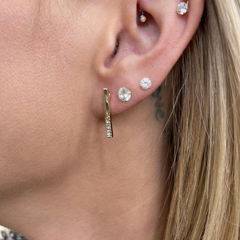 Classy Bar Earring