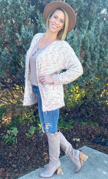 The Perfect Oversized Cardigan