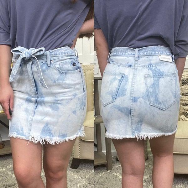 The Cait KanCan Belted Skirt