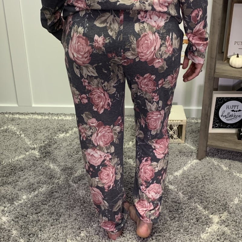 Flower Me With Love Honeyme Joggers