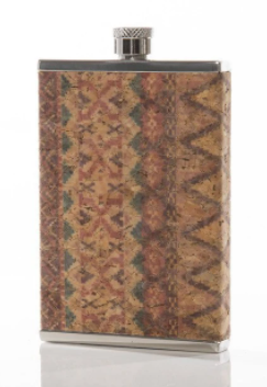 Cork Print 3oz Flask - 2 prints!