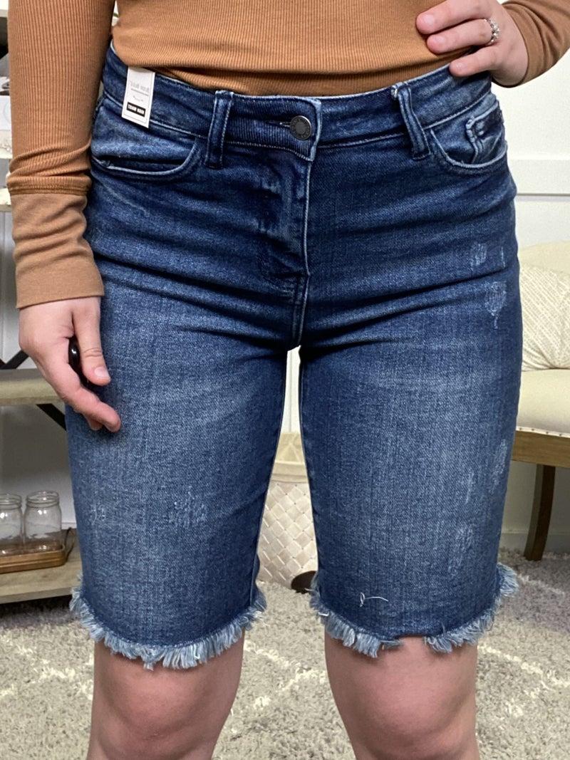 Shianne High Waisted Judy Blue Shorts