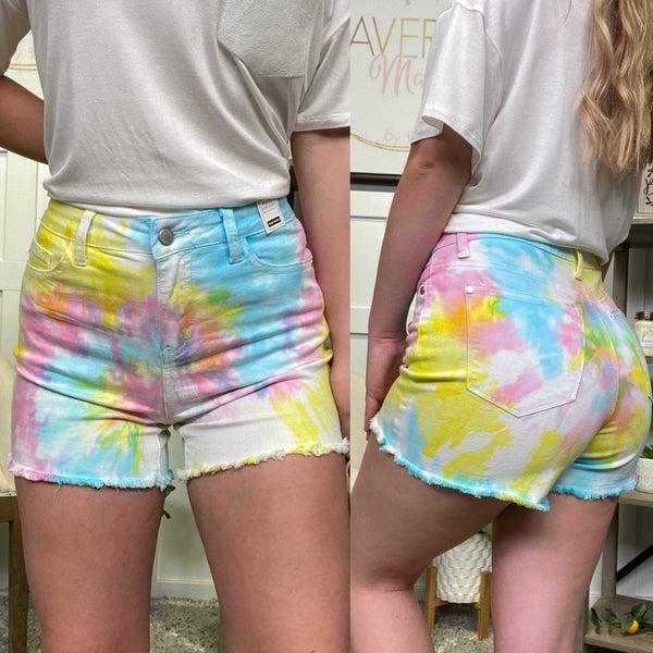 The Dahlia High Rise Judy Blue Shorts