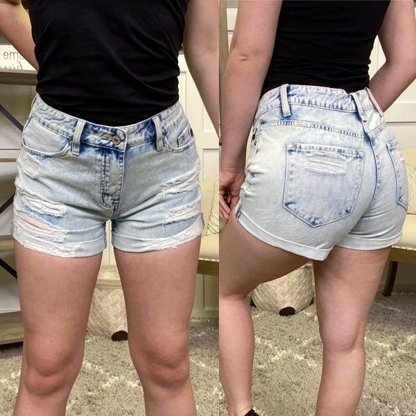 Janie High Rise KanCan Shorts