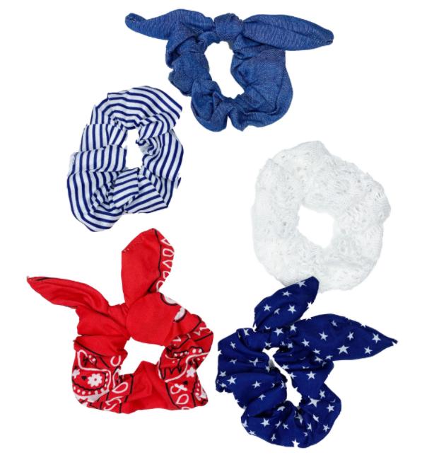 USA Pride Scrunchie  (5 Piece Set)
